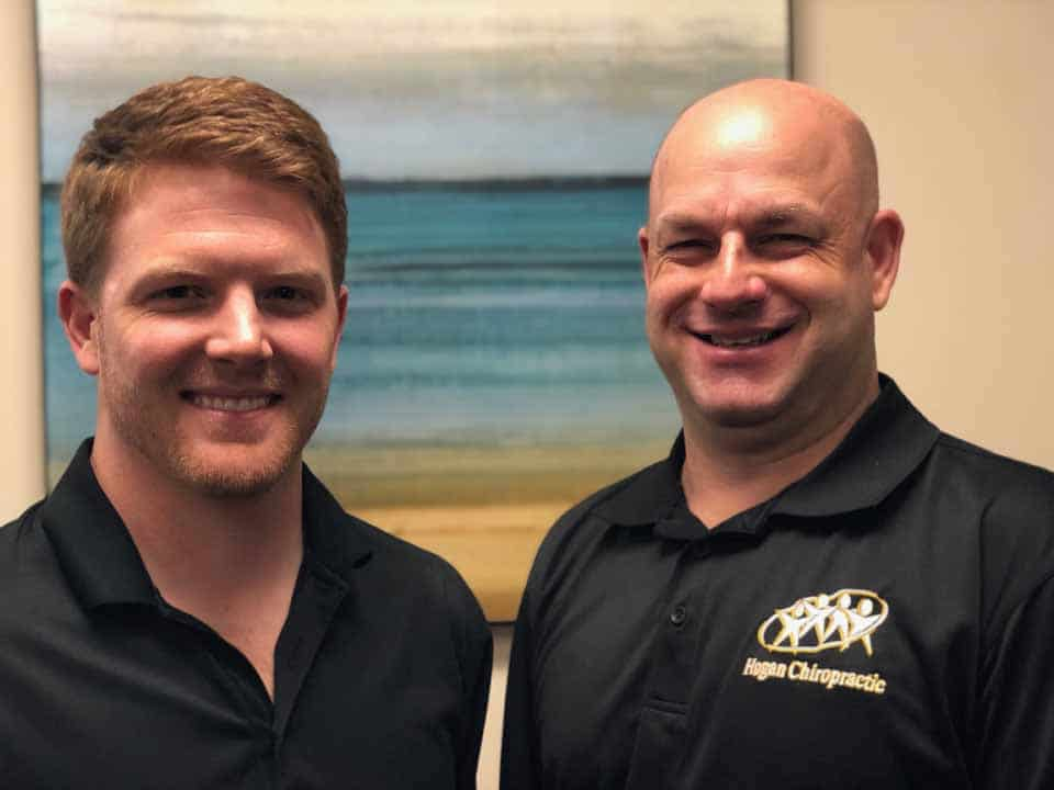 Dr. Hogan and Dr. Benson of Hogan Spine & Rehab