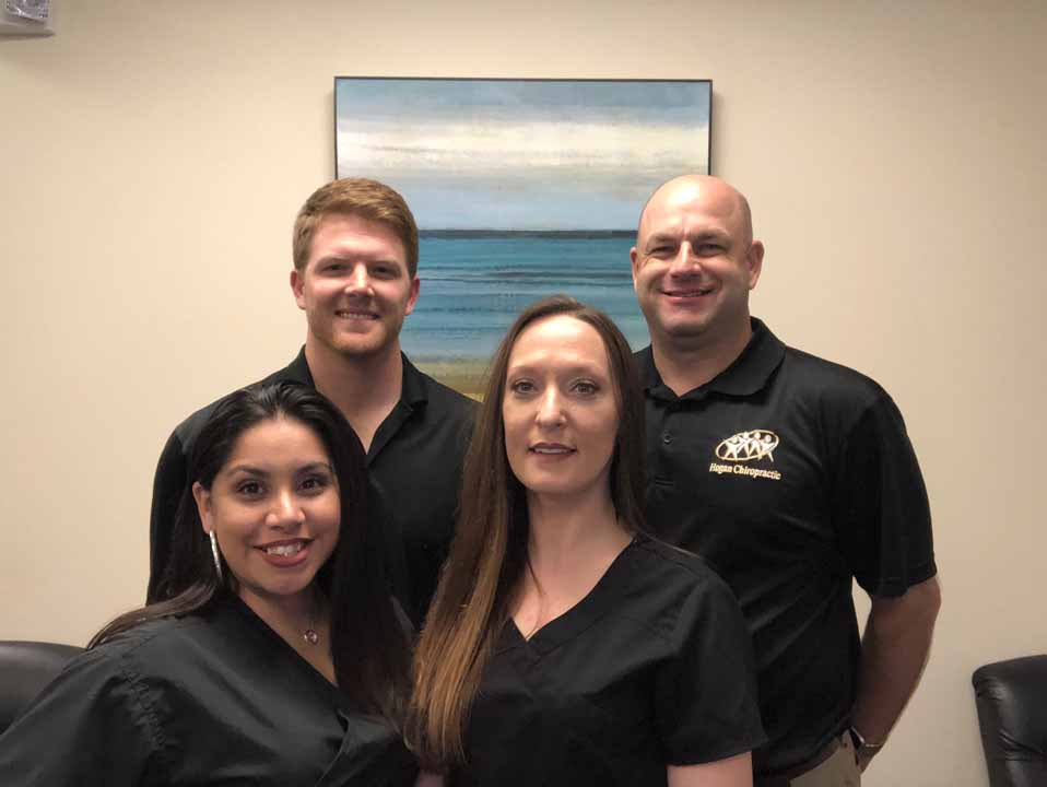 photo of the team at Hogan Chiropractic