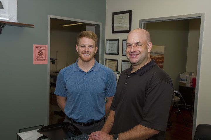 Hogan Chiropractic team providing Chiropractic Care