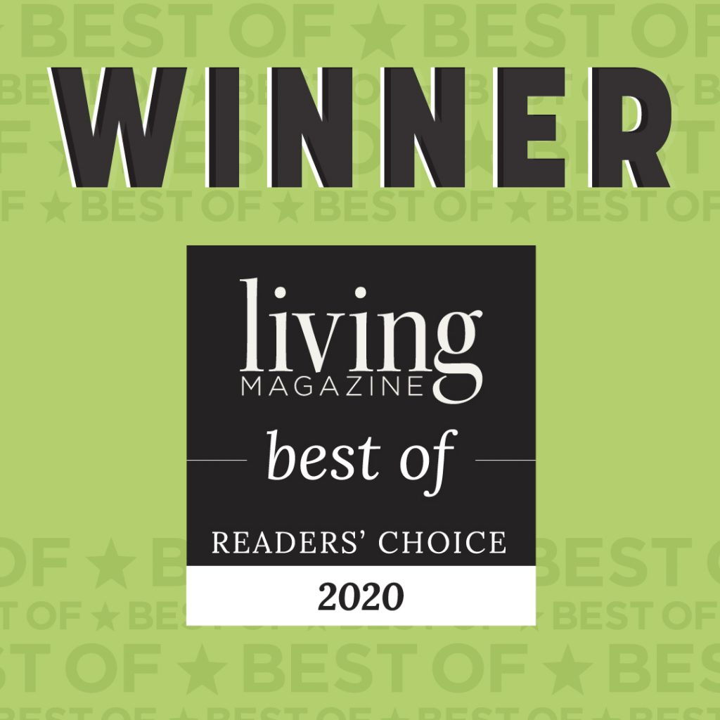 Living Magazine 2020 best of readers choice